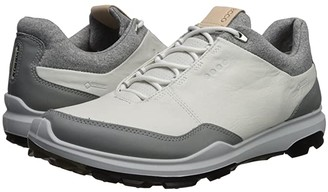 Ecco Biom Hybrid 3 GTX (White/Black) Men's Golf Shoes