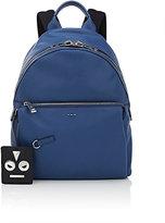 """Fendi Men's """"No Words"""" Backpack-BLUE"""