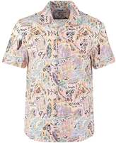 Desigual Cam Luis Regular Fit Shirt Blanco