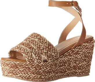 Kaanas Women's SAN REMO Yute Platform Wedge Sandal