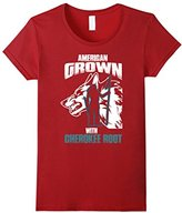 Cherokee Women's American Grown With Root T Shirt Gift Small
