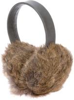 Karl Donoghue rabbit fur ear muffs
