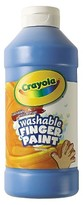 Crayola Washable Fingerpaint - Blue (16 oz)