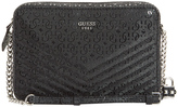 GUESS SY678012BLA Halley Chain Crossbody Bag