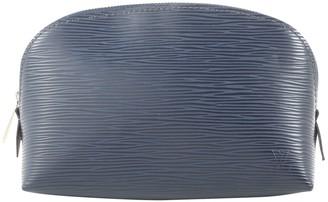 Louis Vuitton \N Navy Leather Purses, wallets & cases