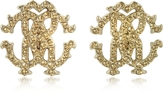 Roberto Cavalli RC Lux Crystals Stud Earrings