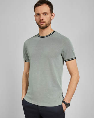 Ted Baker WINNA Striped cotton T-shirt