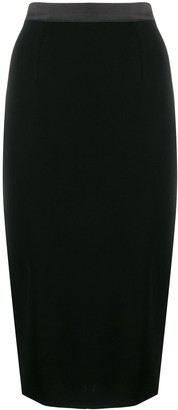 Styland Midi Pencil Skirt