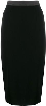 Styland Midi Pencil Skirt
