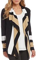 Preston & York Bailey Long Sleeve Striped Cardigan
