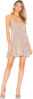 Privacy Please x REVOLVE Downtown Slip Dress in Beige. - size L (also in M,S,XS)