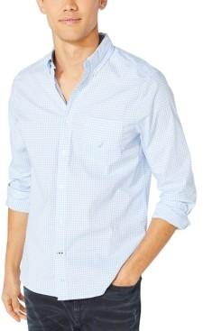 Nautica Men's Oxford Gingham Shirt