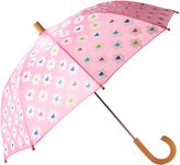 Hatley Little Girls Flower Heart Garden Umbrella