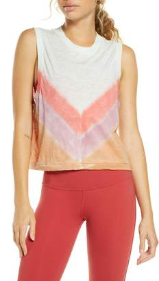 Free People FP Movement Chevron Ombre Love Tank
