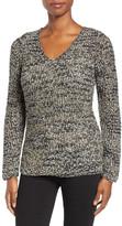 Nic+Zoe Galaxy Ribbon Yarn Sweater (Regular & Petite)