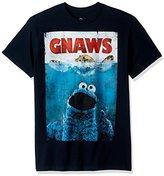 Sesame Street Men's Gnaws Short Sleeve T-Shirt