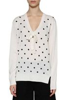 Marc by Marc Jacobs Sequinned Polka Dot Knit Sweater