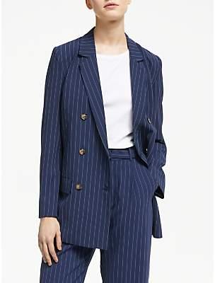 Gestuz Kine Stripe Blazer, Blue
