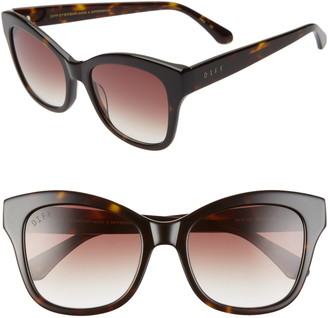 DIFF Skylar 52mm Cat Eye Sunglasses