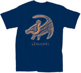 Novelty T-Shirts Lion King Symbol Graphic T-Shirt