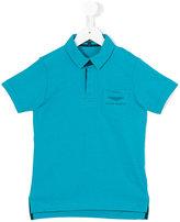 Aston Martin Kids logo polo shirt