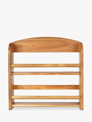John Lewis & Partners Wood Spice Rack, FSC-Certified (Acacia)