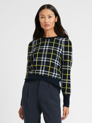 Banana Republic Aire Puff-Sleeve Sweater