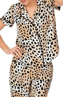 Shady Lady Short Sleeve Pajama Top