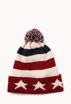 Forever 21 Star Spangled Pom Hat