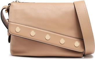 Marc Jacobs Mini Downtown Studded Leather Shoulder Bag
