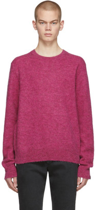 Rag & Bone Pink Knit Arnie Sweater
