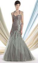 Ivonne D for Mon Cheri Ivonne D by Mon Cheri - 213D28 Long Dress In Aqua