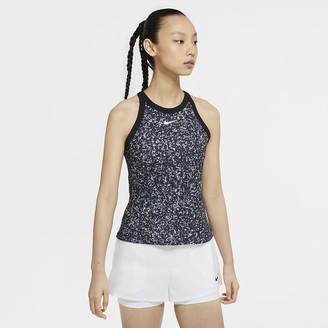 Nike Women's Printed Tennis Tank NikeCourt Dri-FIT