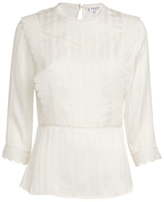 Claudie Pierlot Embroidered Blouse