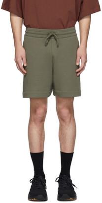 Dries Van Noten Khaki French Terry Lounge Shorts