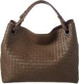 Bottega Veneta Intrecciato Nappa Leather Medium Garda Shoulder Bag