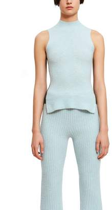 Opening Ceremony Cashmere Mock Neck Top