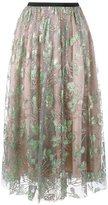 MSGM tulle midi skirt - women - Polyamide/Polyester - 44