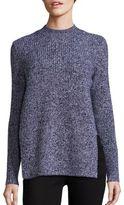 Carven Merino Wool Side Slit Sweater