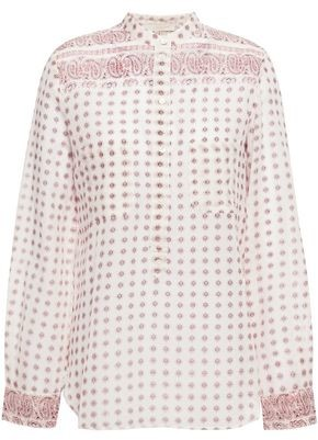 Vanessa Bruno Printed Cotton-mousseline Shirt