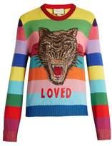 Gucci Striped wool sweater
