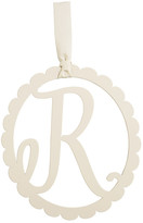Mud Pie Scalloped Initial Wall Hanger - R