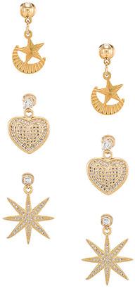 Vanessa Mooney Starlover Earring Set
