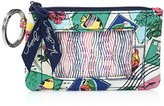 Vera Bradley Women's Zip Id Case Cotton 2