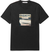 Givenchy Cuban-Fit Printed Cotton-Jersey T-Shirt
