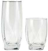 Threshold Ridley Glass Tumblers Set of 12 - Clear
