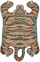 "Loloi Rugs Berry Faux Tiger Area Rug by Loloi X Justina Blakeney , 4'0""x6'0"""