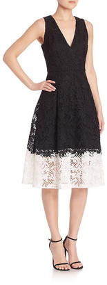 Sachin + Babi Antonia Floral Lace Dress