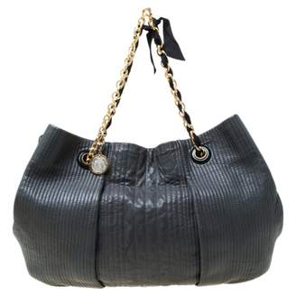 Lanvin Amalia Grey Leather Handbags