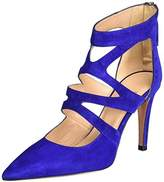 Oxitaly Women's Sissi 12 Pumps blue Size: